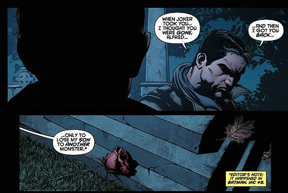"""9. """"Detective Comics #18"""" Damian has died recently.  Cry.  Cry for continuity.  It is also dead."""