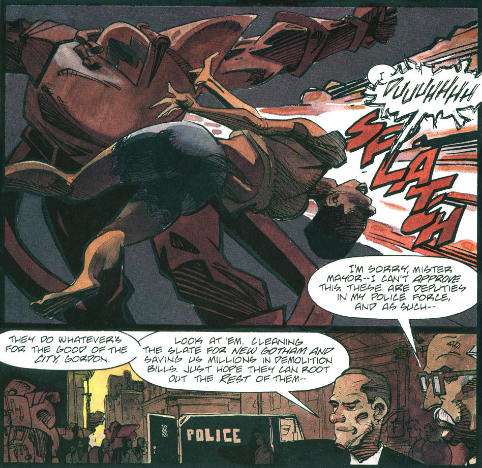 Batman - Run, Riddler, Run!: Mayor Julius Lieberman. This really speaks for itself.