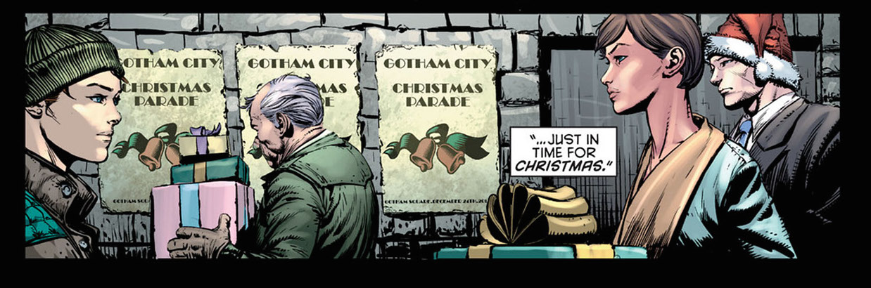 The Dark Knight #16. Not actually Christmas.