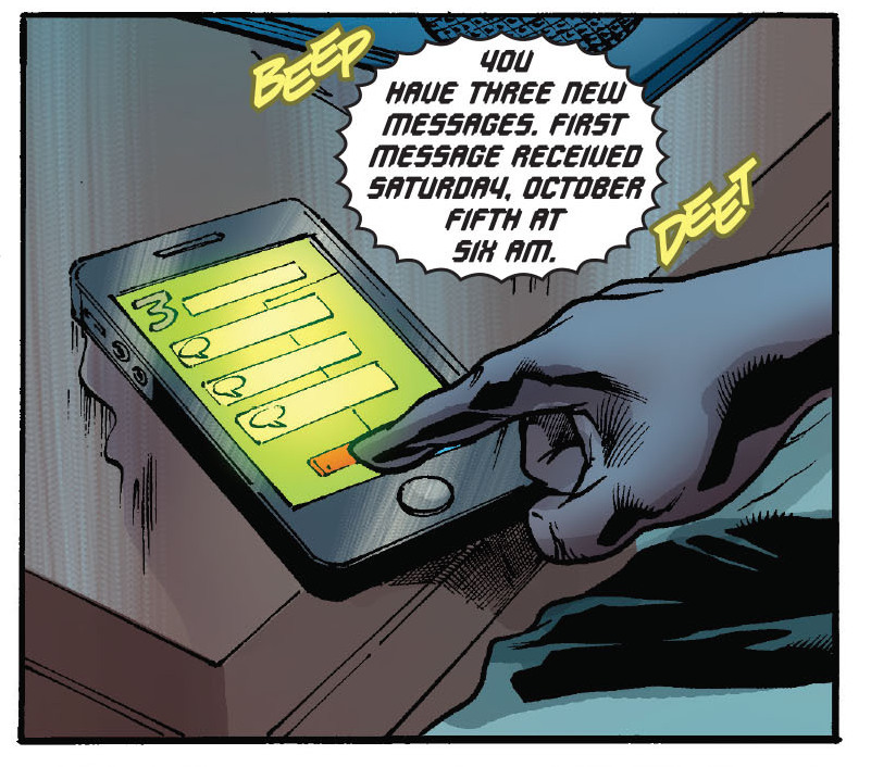 Batwing #22. What is the point of having this story occur on the weekend of October 5th? There isn't one. CONTINUITY ERROR.