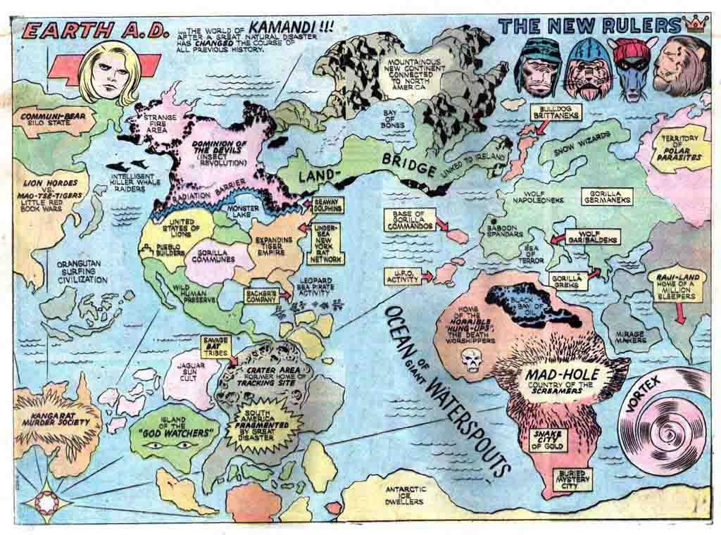 EARTH AD Map