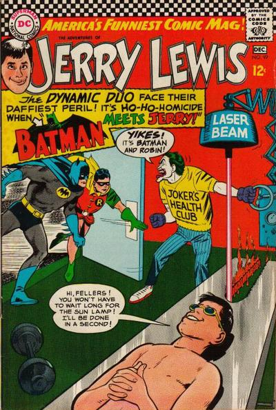 jerry lewis bob hope batman collin colsher earth-b