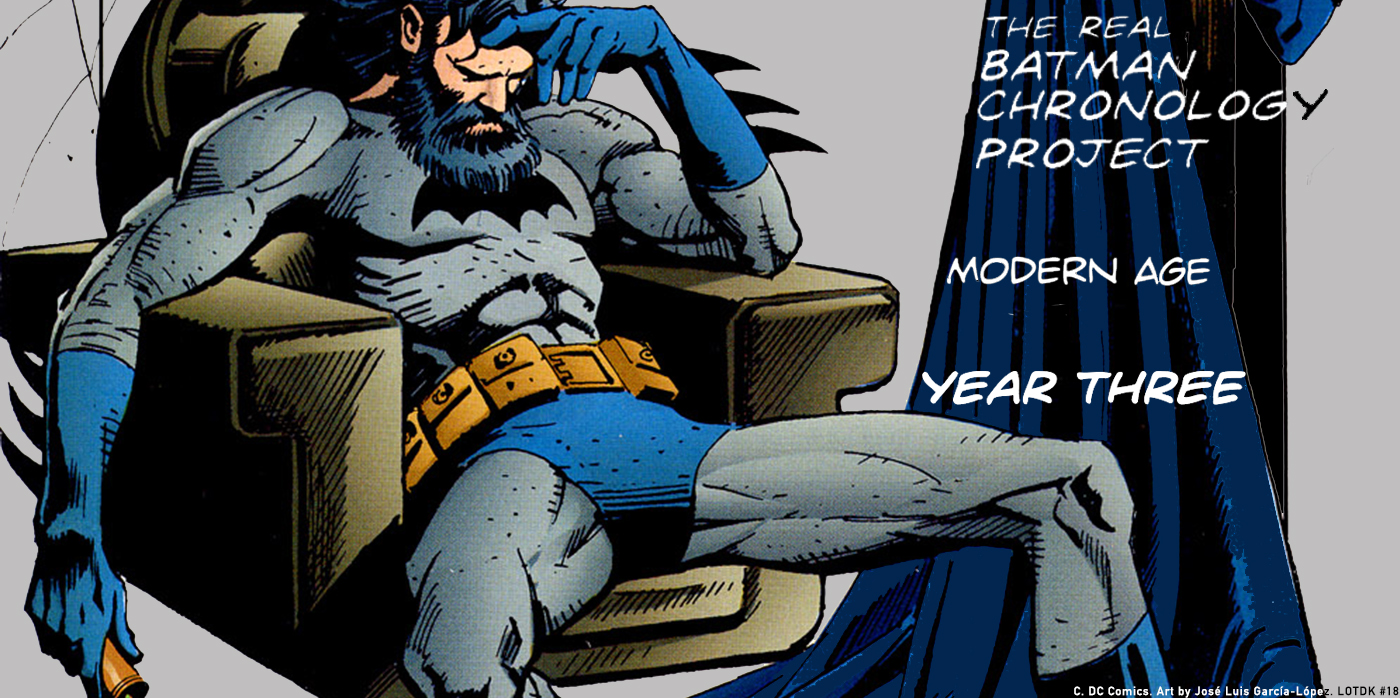 TRBCP Modern Age Year Three Junkie Batman