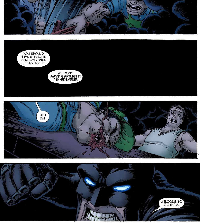 Batman Inc Vol. 1 #6: Who is the villain here?