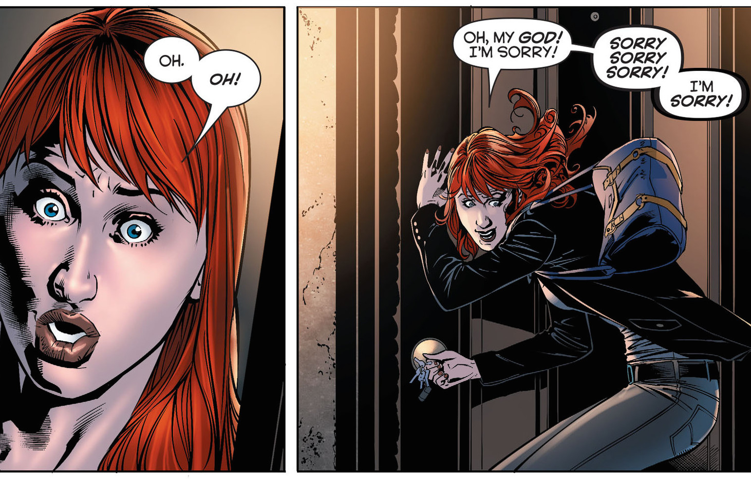 Batgirl #32. You SHOULD be sorry!