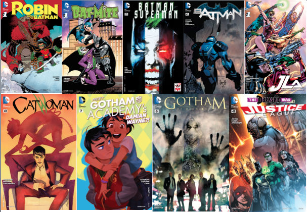 many batman comics