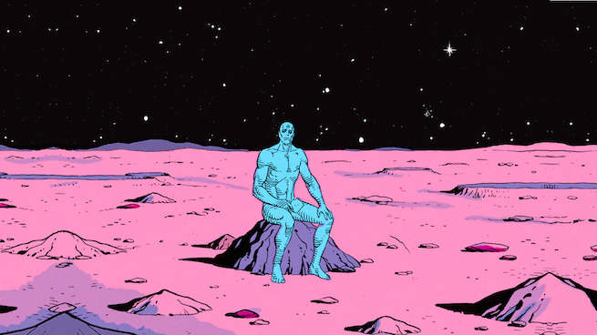 dr manhattan on mars collin colsher